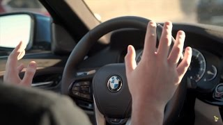 My First Autonomous Driving Experience! - BMW @ CES 2017
