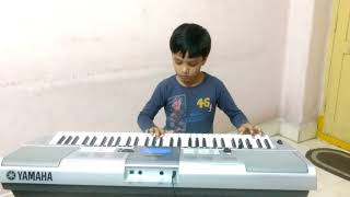 Happy birthday song on keyboard (piano) for kids and all