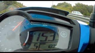Yamaha Y15ZR Tuneboss topspeed gps