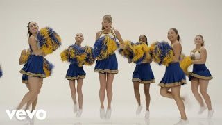 Taylor Swift - Shake It Off Outtakes Video #1 - The Cheerleaders (Behind The Scenes Video)