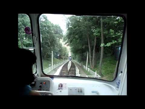 Funicular in Kiev Ukraine