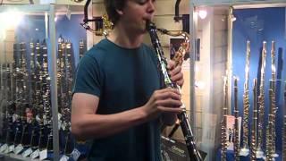 Joe plays the Yamaha YCL-225S Clarinet @ Hobgoblin Music Birmingham