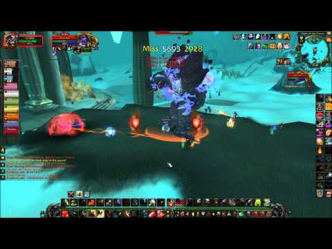 World of Warcraft: Triune vs Dragon soul Part 1 - Morchok vs Dienca