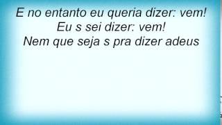 Elis Regina - Pra Dizer Adeus (feat. Zimbo Trio) Lyrics
