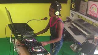DJ Princezz rehearsals at AdiTymm Music Studios towards her competition at TV3's Talented Kidz