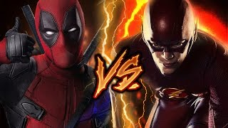 DEADPOOL VS FLASH | BATALLA DE HÉROES | KRONNO & ZARCORT