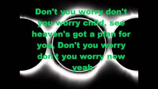 Swedish House Mafia   Don't you worry Child Lyrics