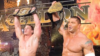 Batista and John Cena unite for a superteam: Armageddon 2006