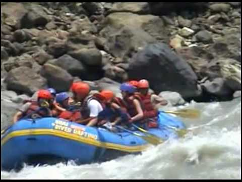Rafting on Kali Gandaki in Nepal
