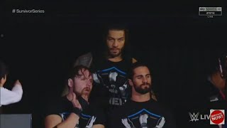 Roman Reigns Entrance (Returns) with the shield at Raw Nov. 13th 2017.