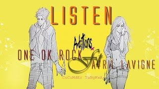 One Ok Rock - Listen Ft. Avril Lavigne |  Romanji - Lyrics & THAI sub