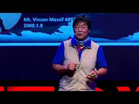 台灣第一個登愛佛勒斯峰的女登山家