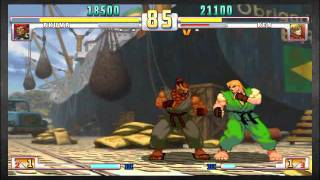 Street Fighter III OE Assassin Fist vs El-W3SO - PSN