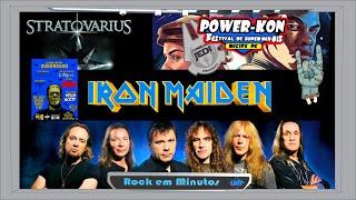 Shows Brasil Iron Maiden 2016, Stratovarius, X bienal de livros PE | Rock em Min #20.02