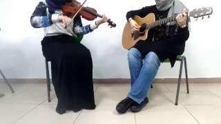 Journey~Mark Eliyahu|Violin and Guitar cover by Feyza ŞAHİN & Zeynep EMRE