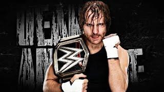 WWE Dean Ambrose Custom Titantron