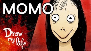 MOMO: NUNCA RESPONDAS a SUS MENSAJES ¡Número MALDITO! - Draw My Life en Español