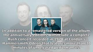 Rush prepares 40th anniversary release for 'a farewell to kings'