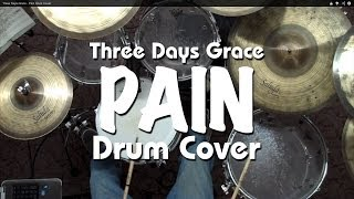Three Days Grace - Pain Drum Cover