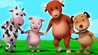 ringa ringa roses | ring around the rosie | nursery rhymes for children by Farmees