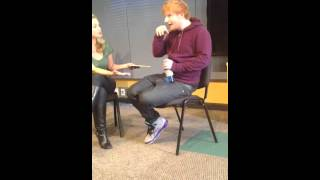 Ed Sheeren Clears Up Taylor Swift and Harry Styles VMA Incident