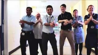 Handwashing Gangnam Style