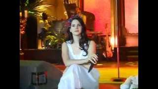 Lana Del Rey - Summertime Sadness Live @ Arena Riga (2013)