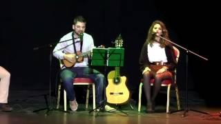 Hoy (Gloria Estefan e India Martínez)- LUQUE Y LUCÍA MORIANA (cover) ukelele