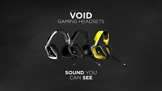 Corsair Void gaming headsets: the official product trailer!
