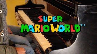 SUPER MARIO WORLD - Overworld   4 hands piano feat. pasli05