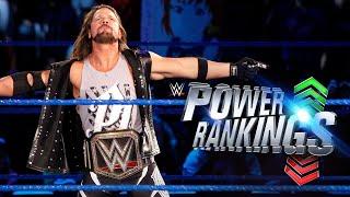 WWE Power Rankings 30 de noviembre de 2017