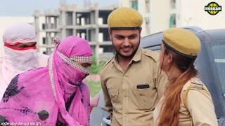 लड़कियों का चालान || काटने वालियों का काटा || funny video 2019 || Hurrrh ||