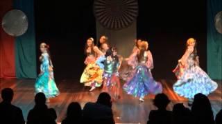 Danças Ciganas- Espiral Dançante da Rakaça Templo de Dança- 12/2015