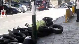 choque de golfo en las carrilanas villafranca 2012