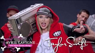 Taylor Swift vs Avril Lavigne - The Best Damn Shake Off (Mash up)