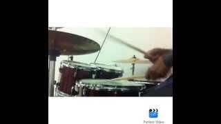 Matheus Fernando - Dançar na chuva - Fernandinho - drum cover