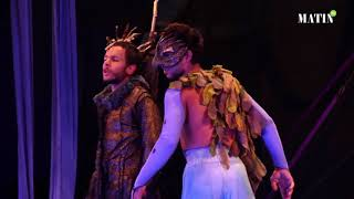 Spectacle « Les Oiseaux » du Théâtre Nomade