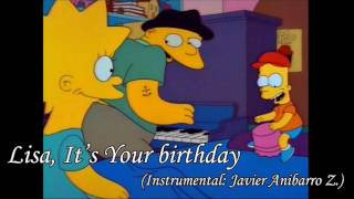 The Simpsons - Lisa It's Your Birthday (Piano Cover: Javier Anibarro Z.)