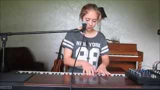 """Oceans (Where Feet May Fail)"" Hillsong UNITED (cover) by Abby Houston"