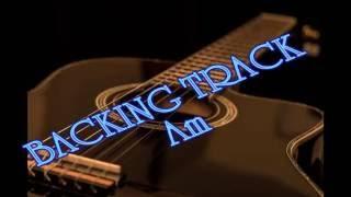 Backing Track - Pop Ballad - in Am, C major, G major, D major