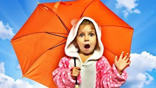 Learn Colors with Umbrellas for Babies Toddlers and Preschool Kids Nursery Rhymes song .ne, video