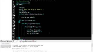 C++ program for Sorting The Array in Descending Order...