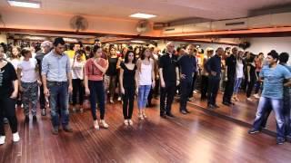 CANLI MÜZİK EŞLİĞİNDE CHA CHA DERSİ Aytunc Benturk Dance Academy live cha cha lesson
