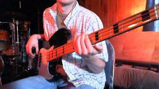 Coldplay - Sparks (Bass Cover)