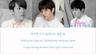 Infinite-F - I'm Going Crazy (미치겠어) [Hangul/Romanization/English] Color & Picture Coded HD