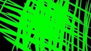 60FPS 4K Doodle Sketch Flow Green Screen Animation