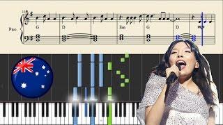 Dami Im - Sound Of Silence (Australia) | Piano Tutorial + Chords