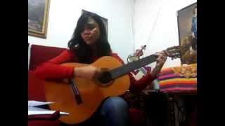 """Karla Lissette cantando: """"Es tu país."""" (Pimpinela - Cover.)"""