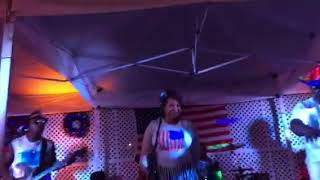 """Touch Band & Show performs Chaka Demus & Pliers' """"Bam Bam"""" at the Red, White and Blue Celebration"""
