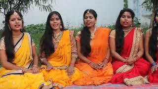 Traditional vivah geet (beti ka tilak geet)- बेटी निकलना अपना महल से